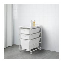 ALGOT Armazón/3 cajas/estante superior