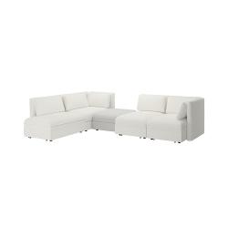 VALLENTUNA Sofá modular 4 con sofá cama 3