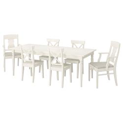INGATORP/INGOLF Mesa y 6 sillas