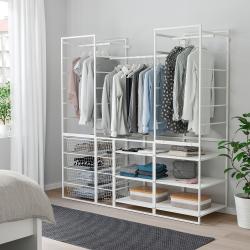 JONAXEL Armz+canastas+riel ropa+estanterías
