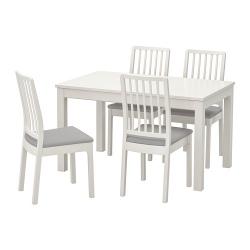 LANEBERG/EKEDALEN Mesa con 4 sillas