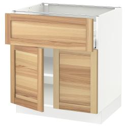 SEKTION/MAXIMERA Base cabinet with drawer/2 doors