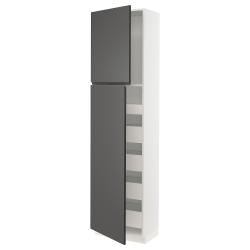 SEKTION/MAXIMERA Arm alto+2puertas/estantes/5cajones