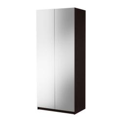 PAX Estructura armario + puertas espejo