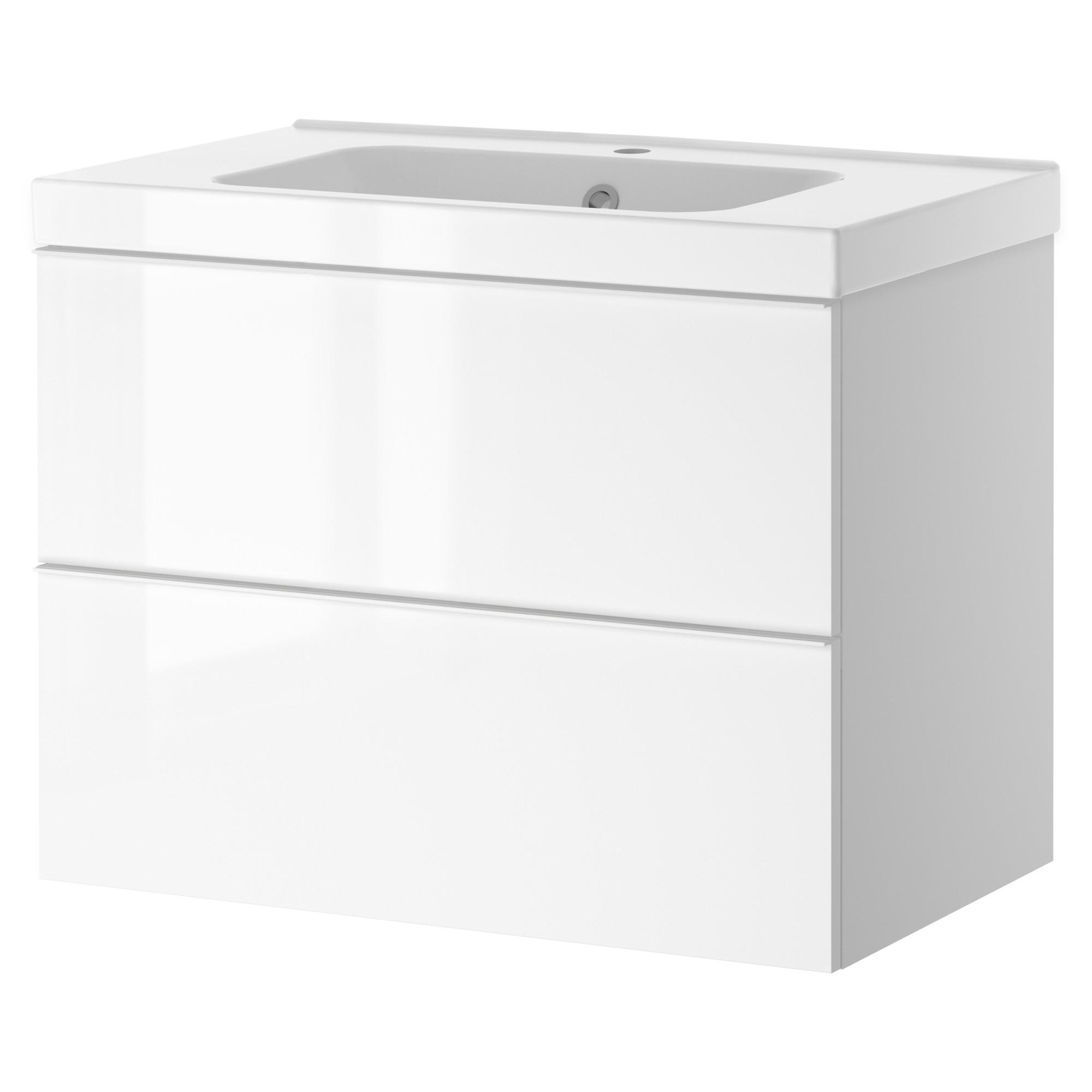Godmorgon odensvik armario lavabo 2 cajones 60cm - Cajones armario ikea ...