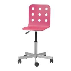 JULES Asiento para sillas para jóvenes, rosa