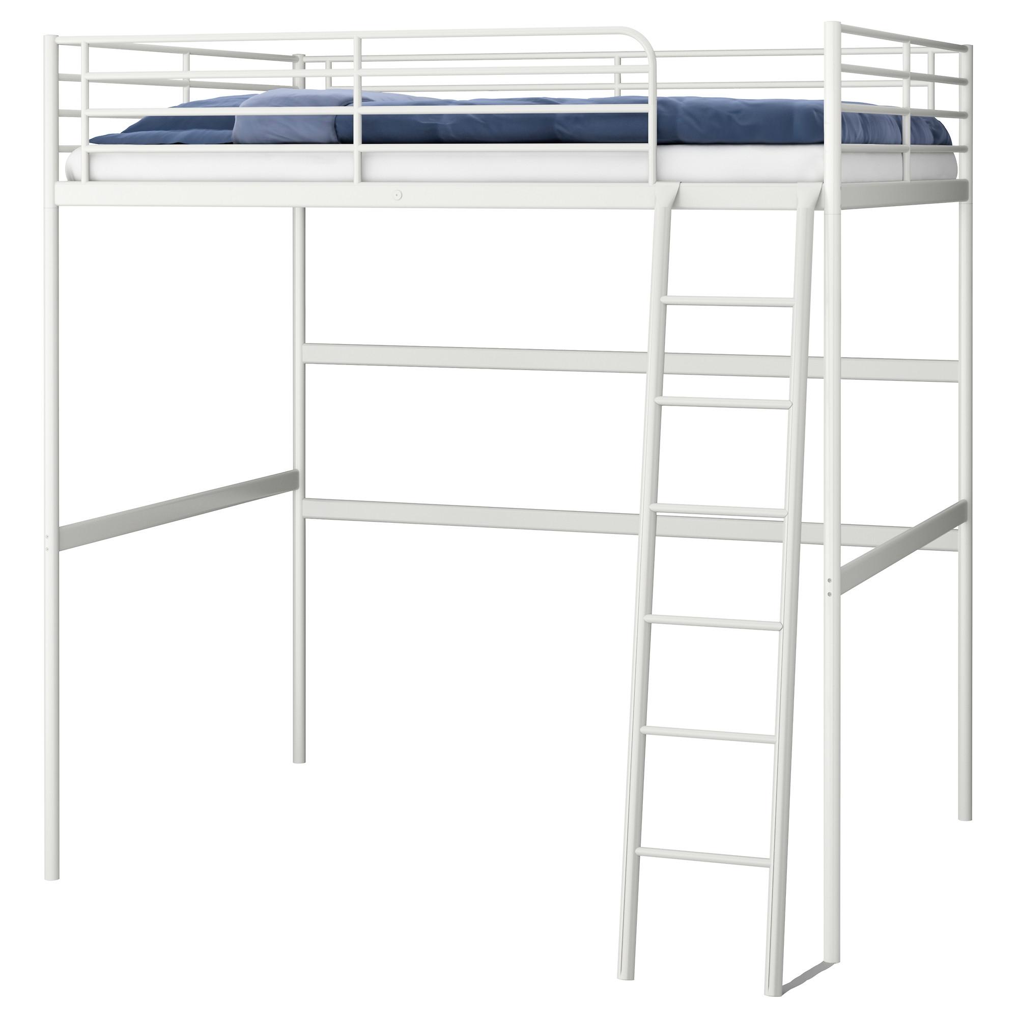 Troms estructura cama alta - Cama alta ikea ...