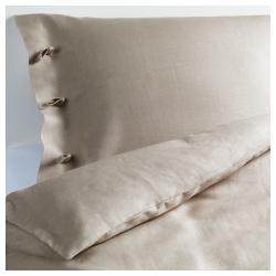 LINBLOMMA Funda nórd doble + fundas almohadas