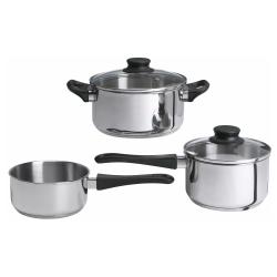 ANNONS Batería de cocina, 5 piezas