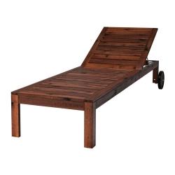 ÄPPLARÖ Tumbona madera