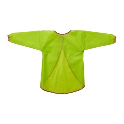 MÅLA Apron with long sleeves