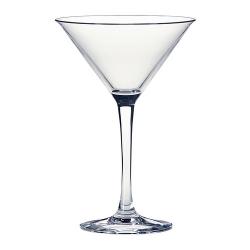 FYRFALDIG Copa de vidrio para martini, 6 oz