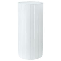 KVARNÅ Lámpara de mesa vidrio blanco