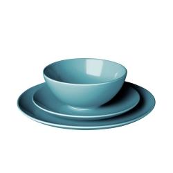 FÄRGRIK Vajilla de cerámica, 18 piezas