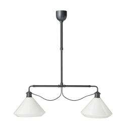 ÄLVÄNGEN Lámpara de techo doble