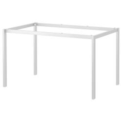 1 x MELLTORP Estructura inferior para mesa 125x75 cm blanco