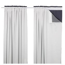 GLANSNÄVA Forros para cortina, 1 par