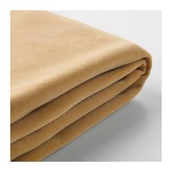 1 x FÄRLÖV Funda para sofá de 3 plazas Djuparp beige dorado