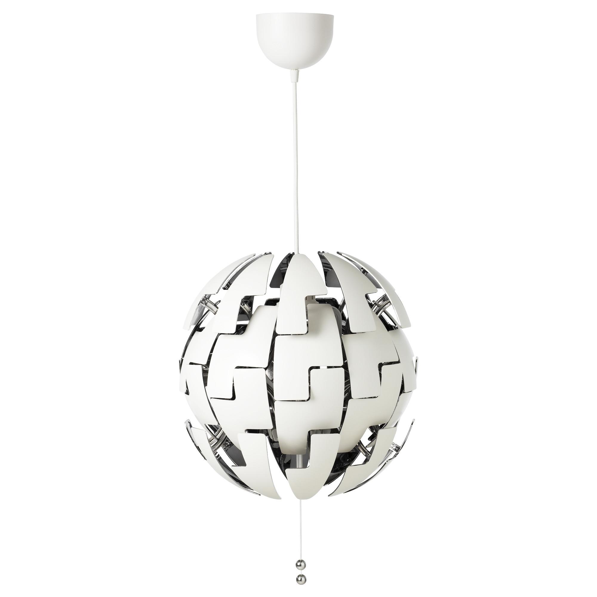 IKEA PS 2014 lámpara de techo Ø35cm blanco/gris plata