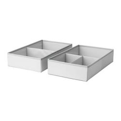 SLÄKTING Caja con compartimentos