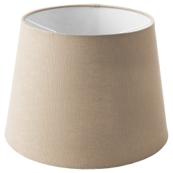 JÄRA Pantalla para lámpara beige 33 cm