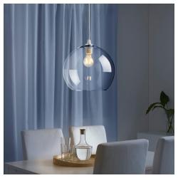 JAKOBSBYN Pantalla para lámpara de techo vidrio 30 cm