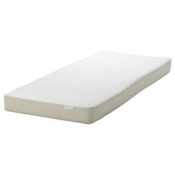 2 x HUSVIKA Mattress de resortes/espuma, Twin