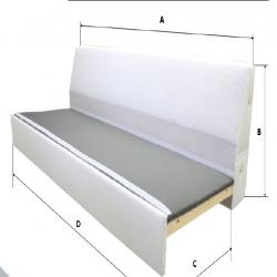 1 x RÅTORP Armazón módulo 1 asiento