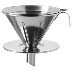 ÖVERST Filtro café metal 3pz