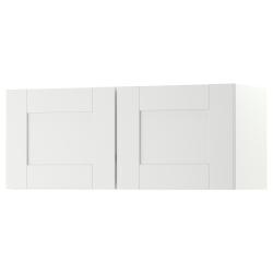 KNOXHULT Armario de pared con puertas
