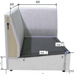 1 x LJUSTORP Estructura módulo esquina