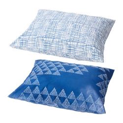 TÄNKVÄRD Fundas para almohada, 50x60 cm