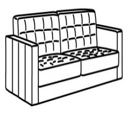 MORABO Armazón de sofá