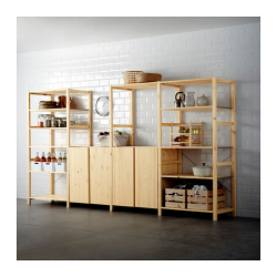 IVAR 4 secciones/estantes