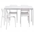 MELLTORP Mesa con 4 sillas
