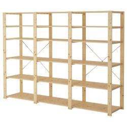 HEJNE 3 secciones/estantes