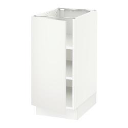 SEKTION Base cabinet with shelves