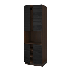SEKTION High cabinet for micro w 4 doors