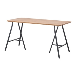 HILVER/LERBERG Mesa de escritorio 140x65 cm
