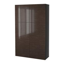 BESTÅ Combinación almacenaje+puertas
