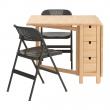 NORDEN Mesa y dos sillas