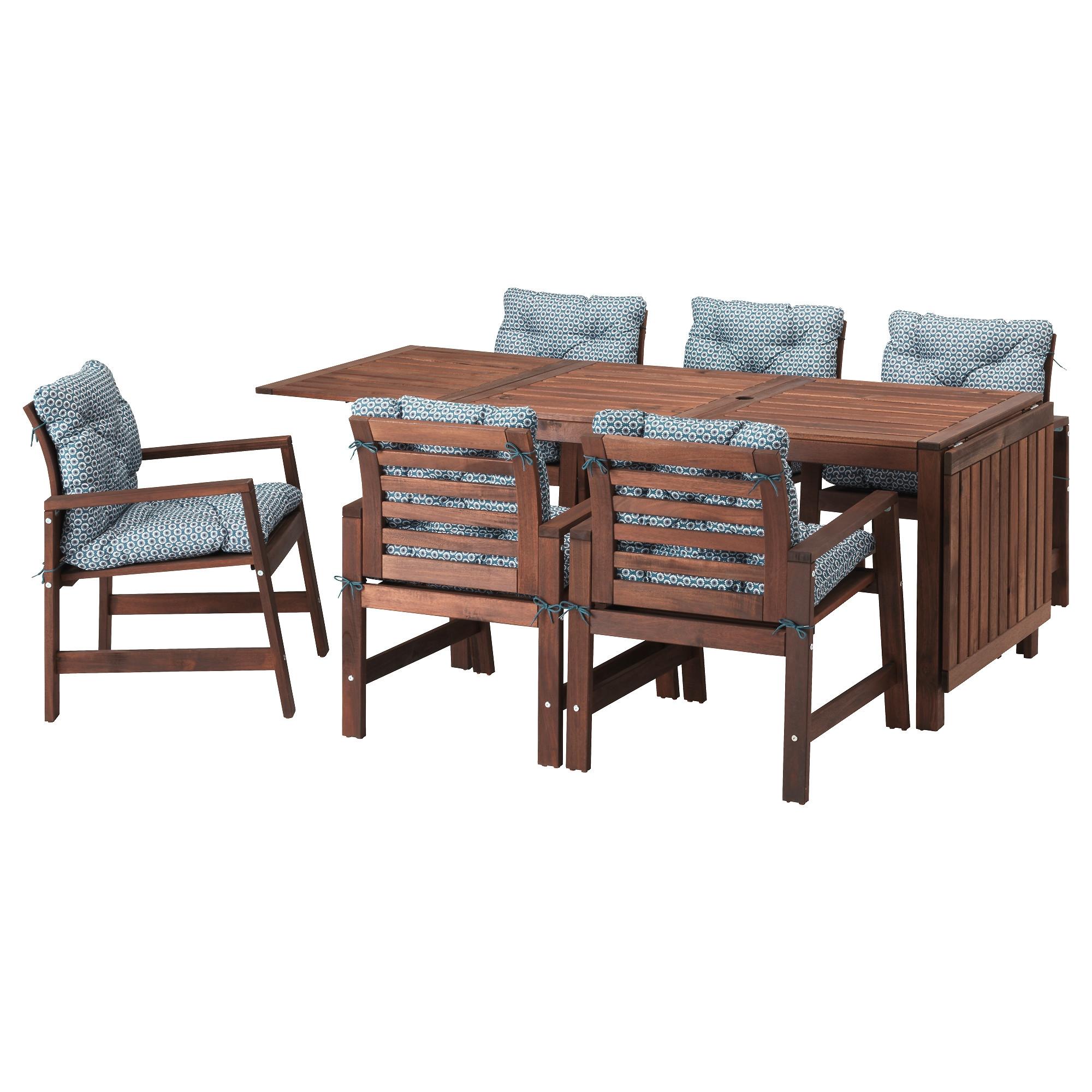 APPLARO Table 6 Chairs