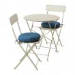 SALTHOLMEN Mesa+2 sillas plegables, exterior