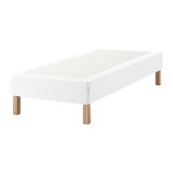 ESPEVÄR Base colchón muelles +patas