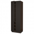 SEKTION Armario alto+estantes/4 puertas
