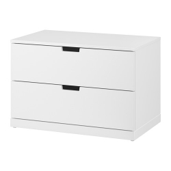 NORDLI Chest of 2 drawers