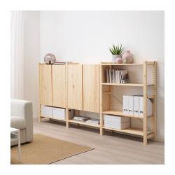 IVAR Estructura almacenaje 259x30x124 cm armarios y estantes