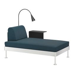 DELAKTIG Chaiselongue mesa aux lámpara