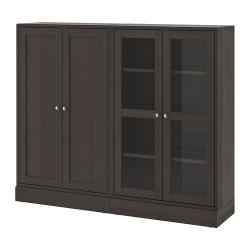 HAVSTA Combi almacenaje puertas vidrio