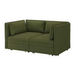 VALLENTUNA Sofá modular 2 + sofá cama 2